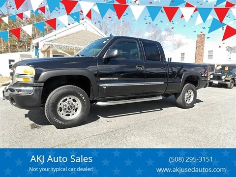 2006 GMC Sierra 2500HD for sale in West Wareham, MA