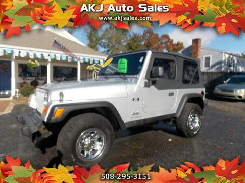 2003 Jeep Wrangler for sale in West Wareham, MA
