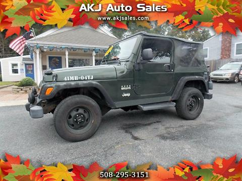 2004 Jeep Wrangler for sale in West Wareham, MA