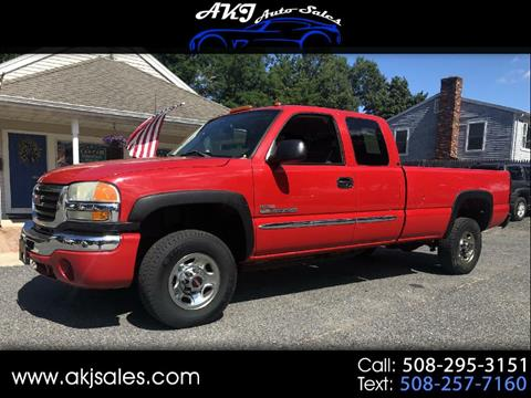 2004 GMC Sierra 2500HD for sale in West Wareham, MA