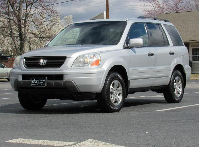 2003 Honda Pilot For Sale At Access Auto In Kernersville NC