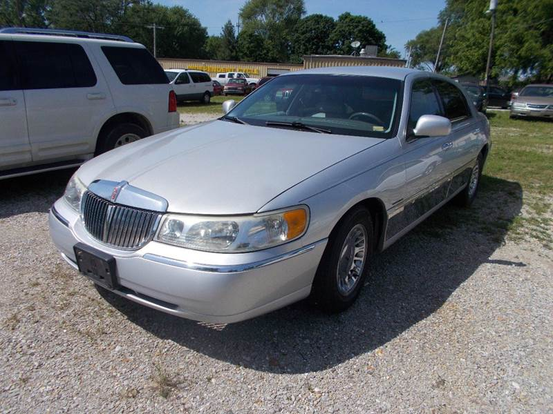 1999 Lincoln Town Car Cartier 4dr Sedan In Sedalia Mo Ollison Used
