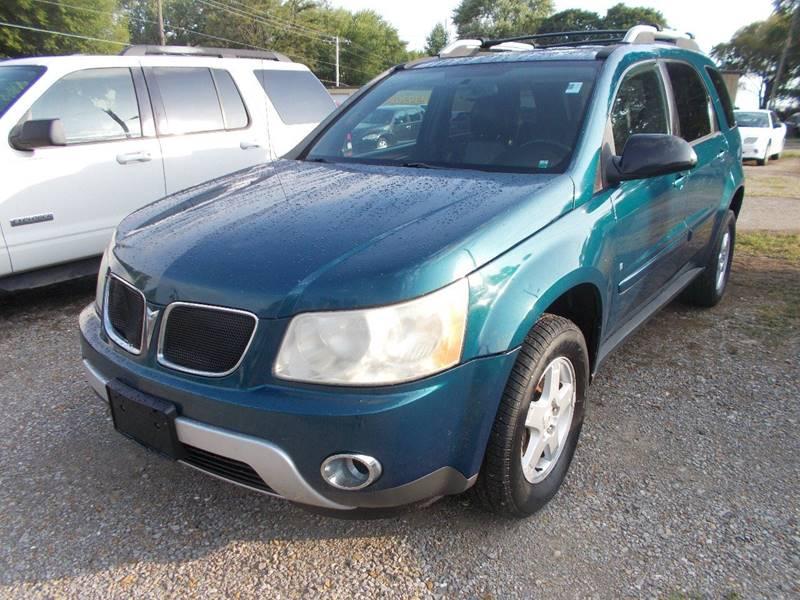 2006 Pontiac Torrent Awd 4dr Suv In Sedalia Mo Ollison Used Cars