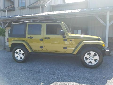 2007 Jeep Wrangler Unlimited for sale in Felton, PA