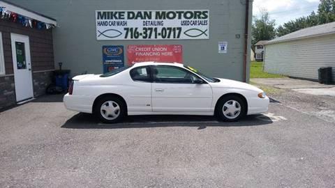 2002 Chevrolet Monte Carlo for sale in Niagara Falls, NY