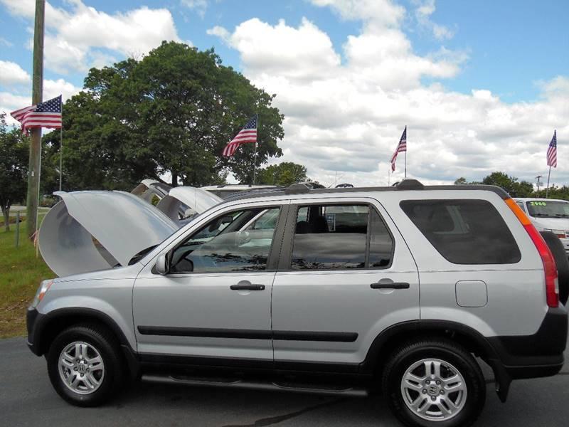 2003 Honda CR-V for sale at Doug White's Auto Wholesale Mart in Newton NC
