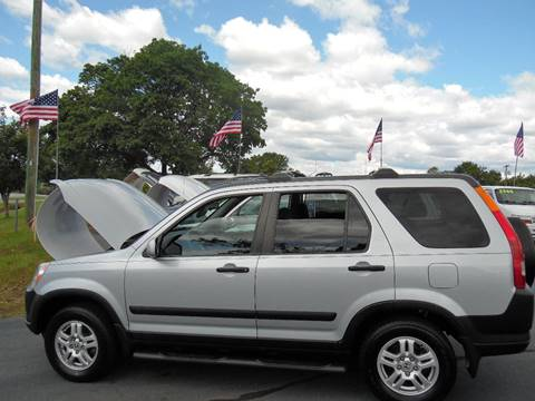 2003 Honda CR-V for sale at Doug White's Auto Wholesale Mart in Newton NC