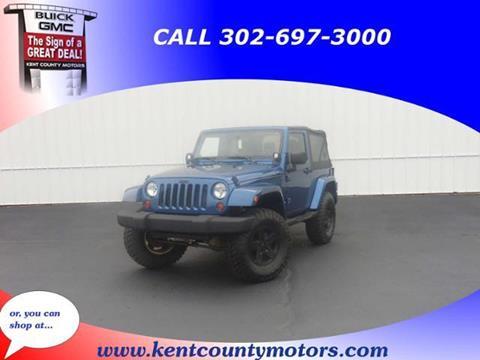 2009 Jeep Wrangler for sale in Dover DE