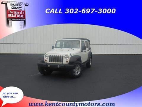 2010 Jeep Wrangler Unlimited for sale in Dover DE