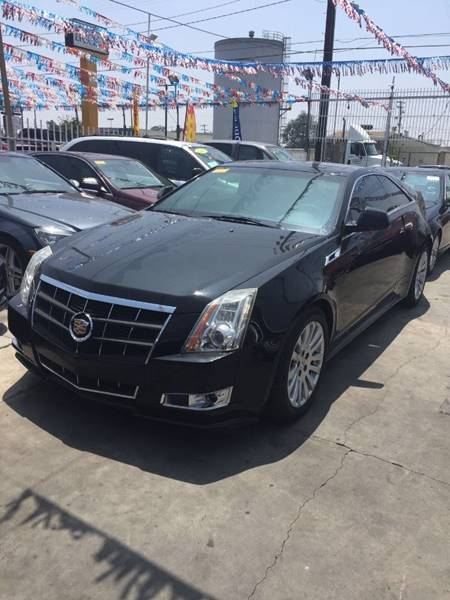 2011 Cadillac CTS for sale at California Auto Trading in Bell CA