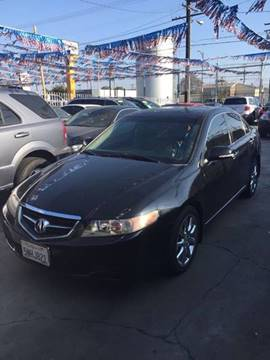 2005 Acura TSX for sale at California Auto Trading in Bell CA