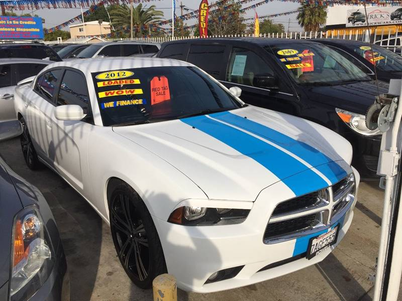2012 Dodge Charger for sale at California Auto Trading in Bell CA