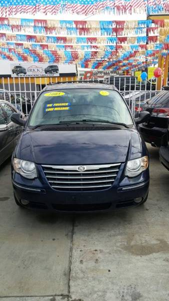 2005 Chrysler Town and Country for sale at California Auto Trading in Bell CA