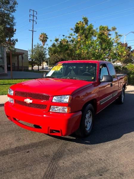 2004 Chevrolet Silverado 1500 for sale at California Auto Trading in Bell CA