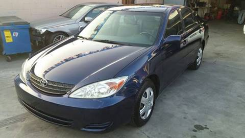 2003 Toyota Camry for sale at California Auto Trading in Bell CA