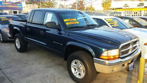 2001 Dodge Dakota for sale at California Auto Trading in Bell CA