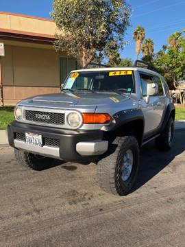 2007 Toyota FJ Cruiser for sale at California Auto Trading in Bell CA