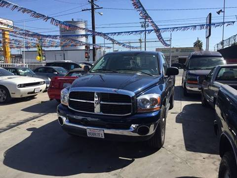 2006 Dodge Ram Pickup 1500 for sale at California Auto Trading in Bell CA
