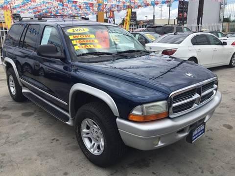 2002 Dodge Durango for sale at California Auto Trading in Bell CA