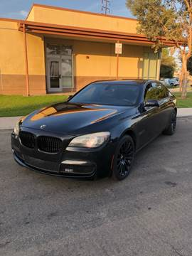 2011 BMW 7 Series for sale at California Auto Trading in Bell CA
