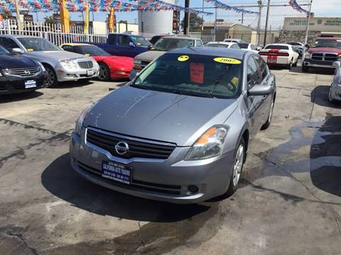 2007 Nissan Altima for sale at California Auto Trading in Bell CA