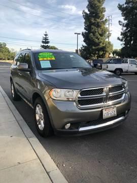 2012 Dodge Durango for sale at California Auto Trading in Bell CA
