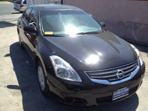 2012 Nissan Altima for sale at California Auto Trading in Bell CA