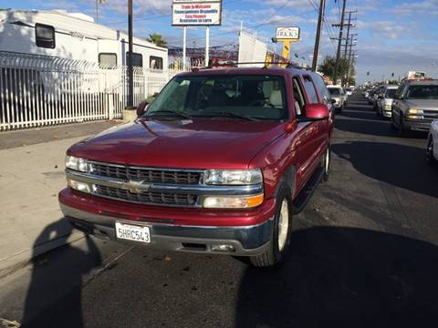 2004 Chevrolet Suburban for sale at California Auto Trading in Bell CA