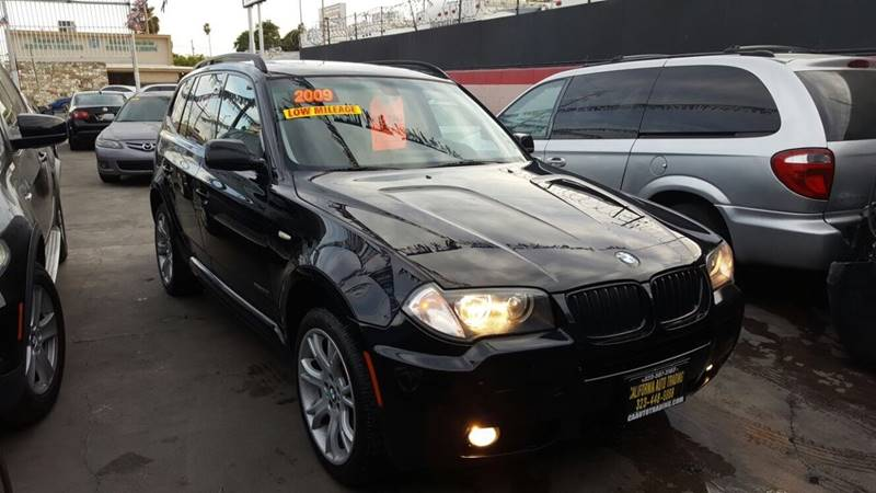 2009 BMW X3 for sale at California Auto Trading in Bell CA