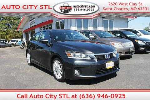 2011 Lexus CT 200h for sale in St. Charles, MO