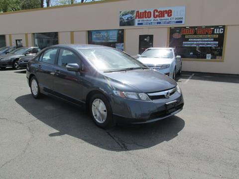 2008 Honda Civic for sale in Vernon, CT