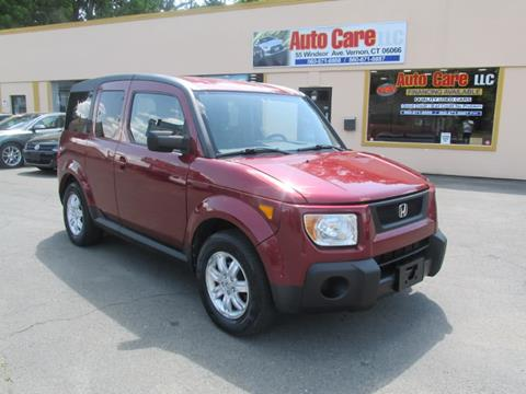 2006 Honda Element for sale in Vernon, CT