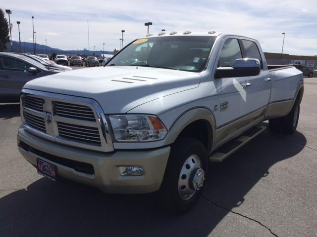2012 RAM Ram Pickup 3500 Laramie Longhorn/Limited Edition 4x4 Crew 8ft - Butte MT