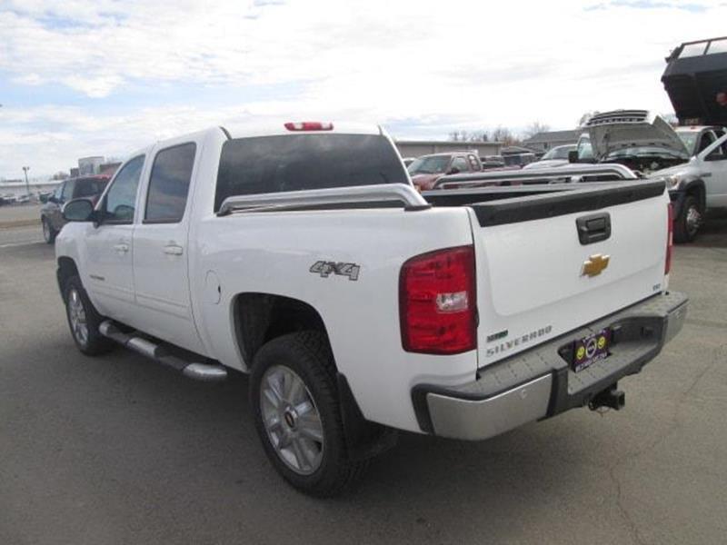 2012 Chevrolet Silverado 1500 4x4 LTZ 4dr Crew Cab 5.8 ft. SB - Butte MT