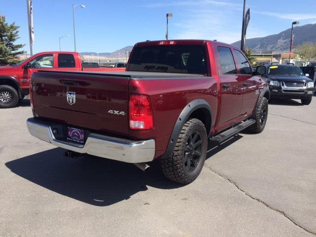 2017 RAM Ram Pickup 1500 4x4 Tradesman 4dr Crew Cab 5.5 ft. SB Pickup - Butte MT