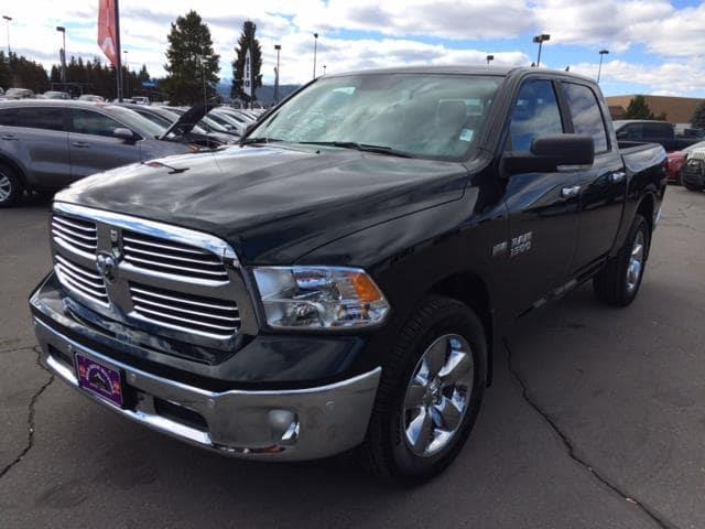 2017 RAM Ram Pickup 1500 4x4 Big Horn 4dr Crew Cab 5.5 ft. SB Pickup - Butte MT