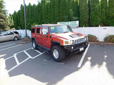 2003 HUMMER H2 for sale in Salem, OR