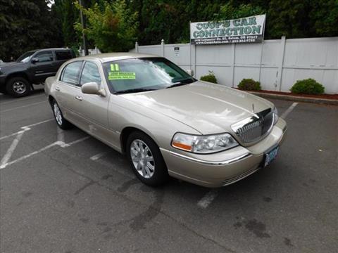2011 Lincoln Town Car For Sale In Detroit Mi Carsforsale Com