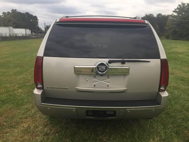 2007 Cadillac Escalade AWD 4dr SUV - Greensboro NC