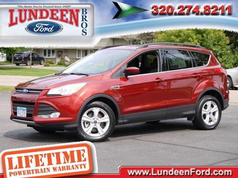 2016 Ford Escape for sale in Annandale MN