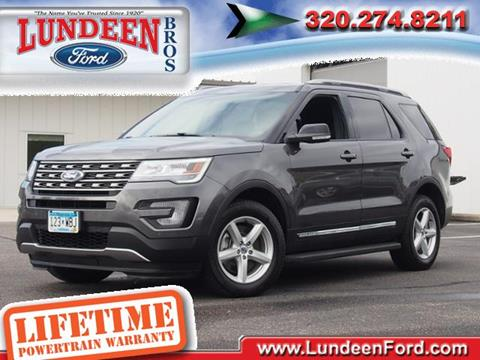 2017 Ford Explorer for sale in Annandale MN