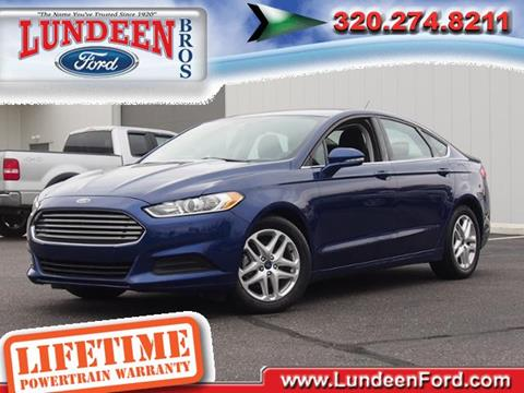 2016 Ford Fusion for sale in Annandale, MN