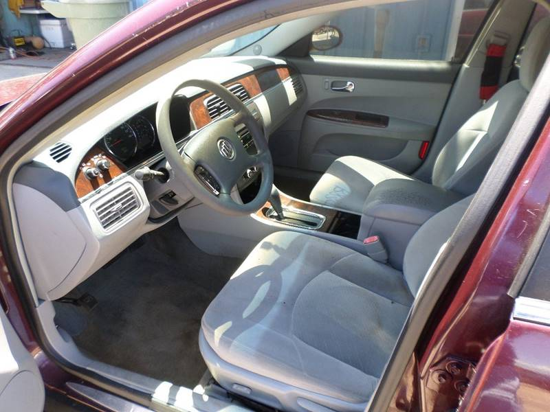 2007 Buick LaCrosse CX 4dr Sedan w/ Side Curtain Airbag Delete - Pensacola FL