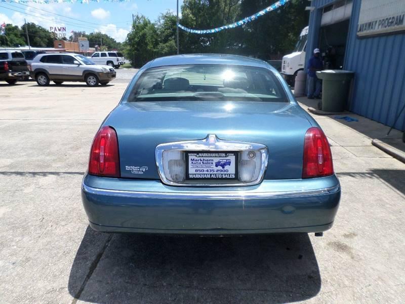 2002 Lincoln Town Car Executive 4dr Sedan - Pensacola FL