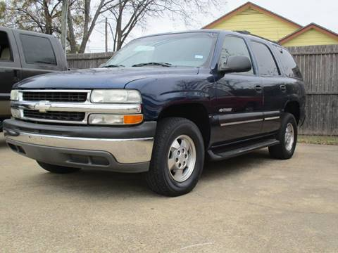 2001 Chevrolet Tahoe for sale in Terrell, TX