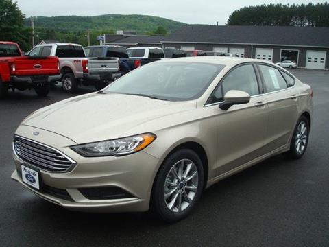 2017 Ford Fusion for sale in Fort Kent ME