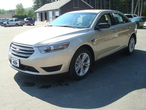 2017 Ford Taurus for sale in Fort Kent ME