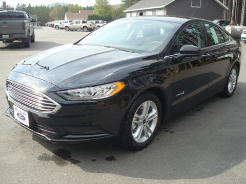 2018 Ford Fusion Hybrid for sale in Fort Kent, ME
