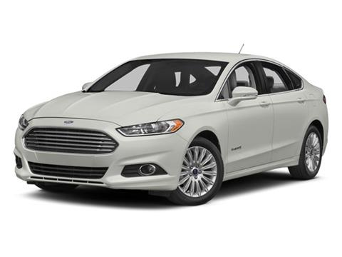 2014 Ford Fusion Hybrid for sale in Fort Kent, ME