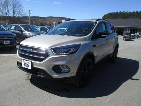 2017 Ford Escape for sale in Fort Kent, ME